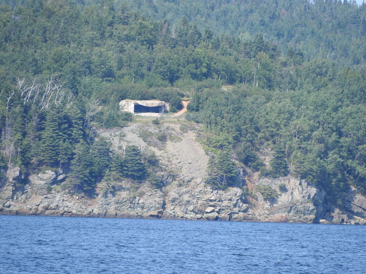 WW II Bunker - across from Laurenceton, NL