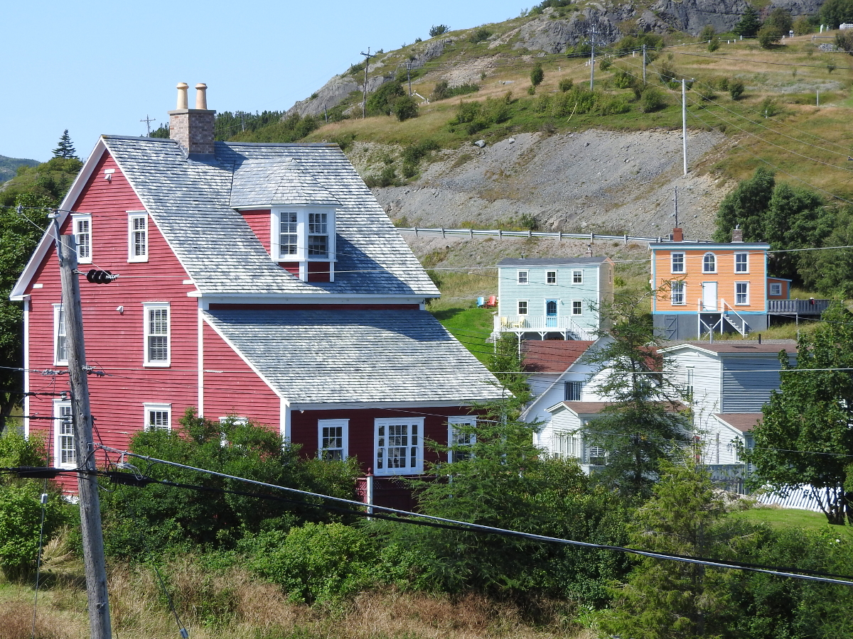 Trinity nl historic village bonavista peninsula bob for Home plans newfoundland