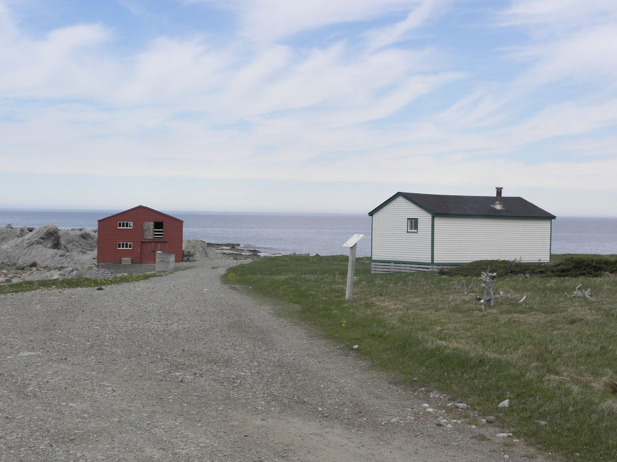 Broom Point Fishing Exhibit | Gros Morne National Park