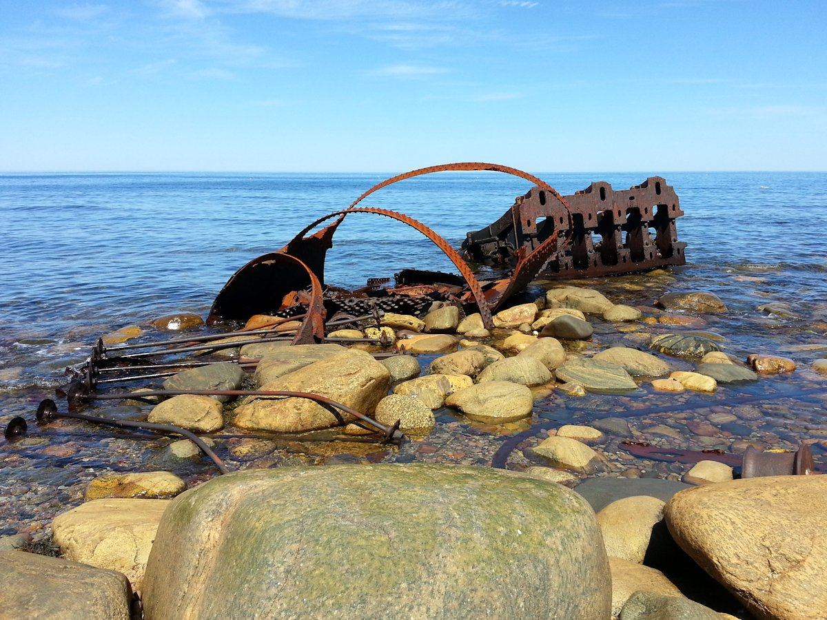 Wreck of S.S. Ethie | Martin's Point