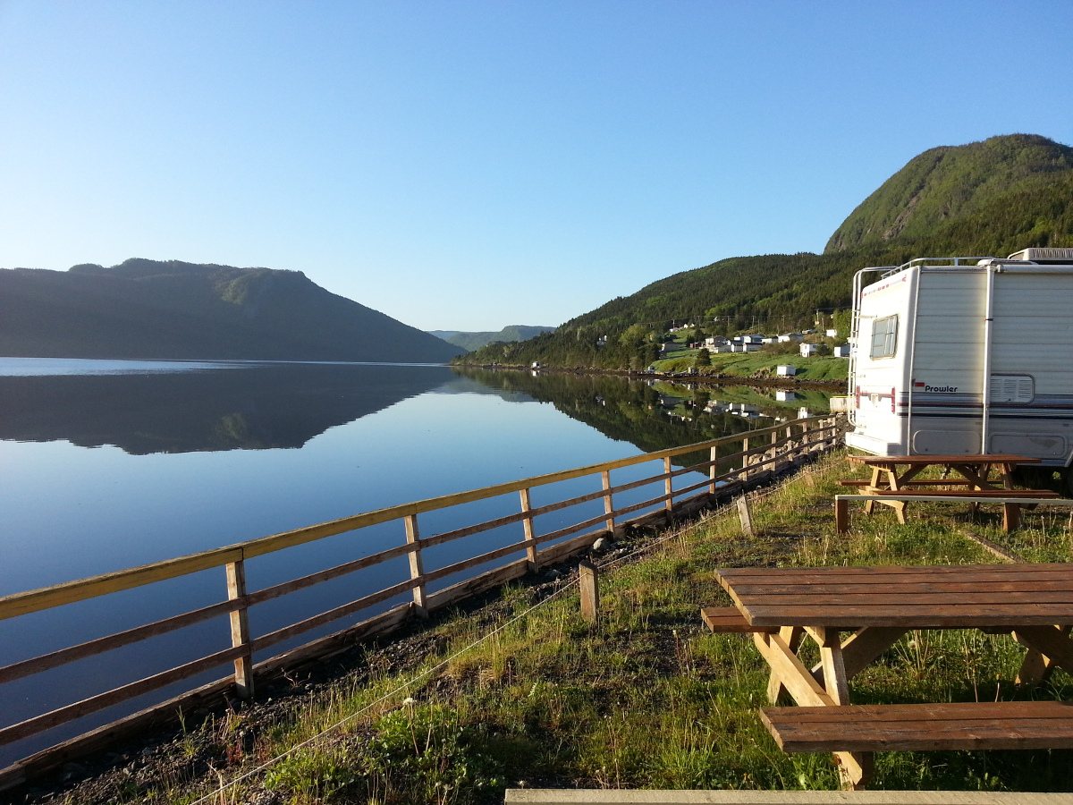 Water's Edge RV Park | Shoal Brook, NL